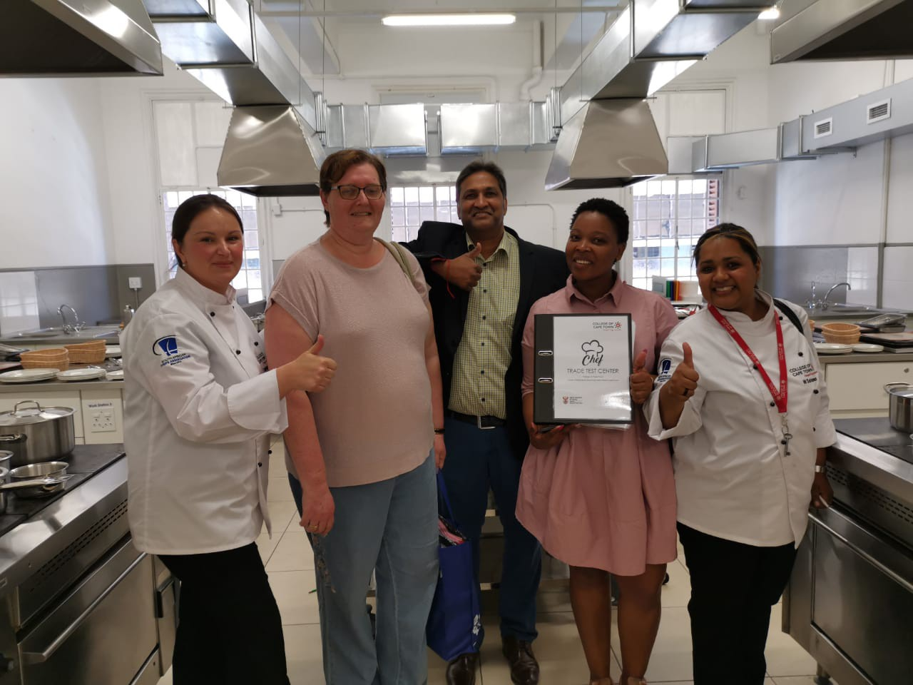 First TVET Trade Test Chef and Accredited Centre in South Africa